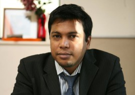 Naufal Zamir, CEO of Zamir Telecom (image: supplied)