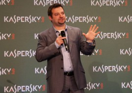 Sergey Novikov, Deputy Director of Kaspersky Lab's Global Research and Analysis team (image: Charlie Fripp)