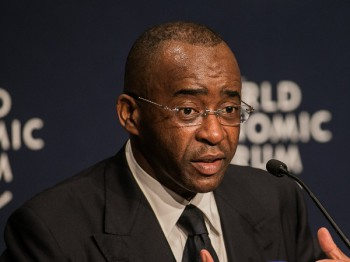 Strive Masiyiwa has been included in Fortune Magazine's annual 'World's 50 Greatest Leaders' list. (image: WEF)
