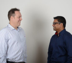 From left to right:  Garth van Sittert (Managing Director & Founder, BitCo). Siva Govender (GM Shycom).