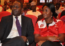 Airtel Nigeria's COO, Tolu Ojo and Tawa Bolarin (image: supplied)