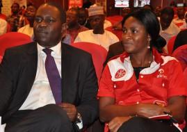 Airtel Nigeria's COO, Tolu Ojo and Tawa Bolarin (image: supplied)