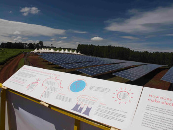 Solarcentury completes East Africa's largest solar project bringing clean green energy to rural Kenyan tea farm (image credit: Solar Century)