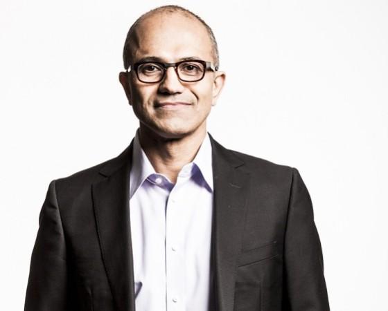 Satya Nadella, Microsoft.