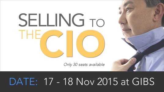 SELLING TO THE CIO
