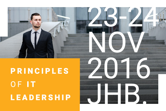 Principles of IT Leadership
