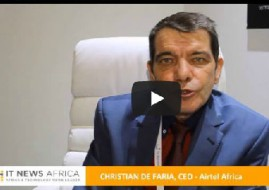 Airtel CEO Christiaan De Faria.
