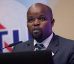 H.E. Mr Jean Philbert Nsengimana Minister, Ministry of Youth and ICT (MYICT), Rwanda (image credit: ITU)