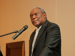 Minister of Telecommunications and Postal Services: Dr Siyabonga Cyprian Cwele. (Image Credit: Darryl Linington)