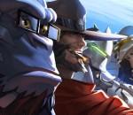 Overwatch Multiplayer Gameplay