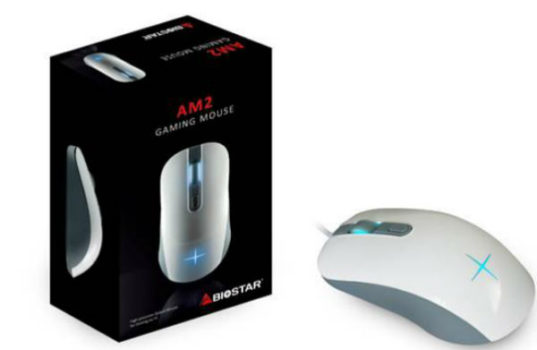 BIOSTAR debuts the AM2 GAMING MOUSE for all the game fanatics