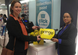 Pargo online shoppers to collect and return their purchases in Clicks stores throughout the country