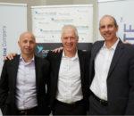 From Left Eran Feinstein, Offer Gat and Peter Harvey