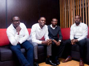 To Let co-founders (L-R) Sulaiman Balogun, Fakayo Ogundipe, Dapo Eludire and Seyi Ayeni