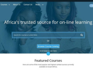 eLearnAfrica partnered with universities around the world to provide online education