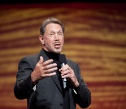 Oracle's Larry Ellison takes aim at Amazon. (image credit: Oracle)