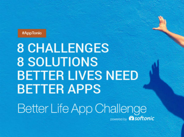 Over the next three weeks the challenge will be accepting finished apps from around the globe to present in Barcelona and win big.