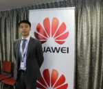 Huawei's Director of Government and public Affairs, Jacky Zhang.