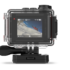 The waterproof Ultra HD action camera captures 4K/30fps video with GPS data overlays.