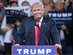 Donald Trump has been elected 45th president of America.