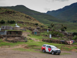 Vodafone Foundation helps save mothers' and children's lives in Lesotho. (image: Vodafone group)