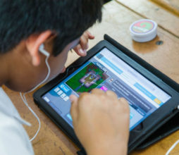 Microsoft held an Hour of Code session with the Blairgowrie Primary School pupils.