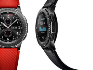 The Gear S3 is available at Samsung stores and Dion Wired at a retail price of R 6499.00. (image: Samsung)