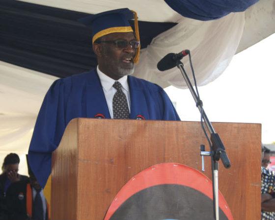 ZAOU acting Vice-Chancellor,  Professor Yerokun Olusegun Adedayo.