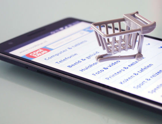 Online shoppers still buying second-hand items.