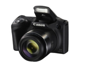 The PowerShot SX430 IS captures HD movies at the touch of a button.