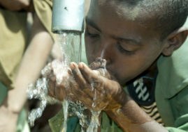 How intelligent water meters can could aid in water crisis.