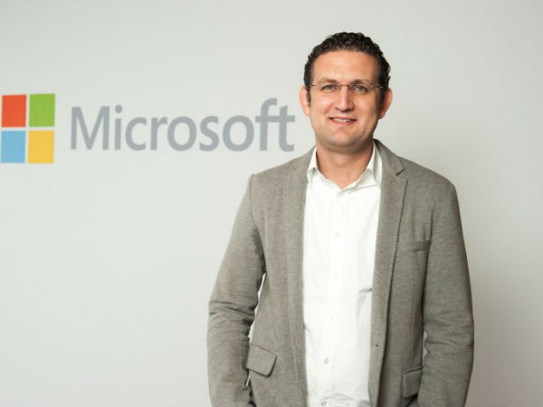 Amr Kamel, Microsoft GM in the West, East, Central Africa & Indian Ocean Islands.