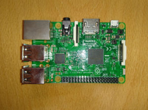 The Raspberry Pi 3 Compute Module.