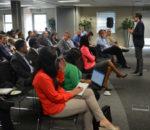 The crowd at Blockchain Africa Forum.