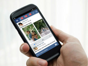 Facebook has increased by 14% since 2016