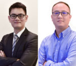 Left: Bruce Zhou, CEO, AXILSPOT. Right:August Chen, Director of Global Sales, AXILSPOT.
