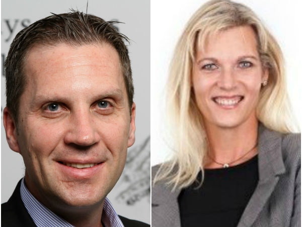 (Right) Shiona Blundell, Head of Banking, Africa, Wipro Limited and (Left) Gavin Holme, Business Head, Africa, Wipro Limited.