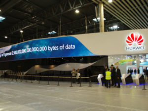 Huawei Hall at the MWC 2017 in Barcalona.(image: Huawei)