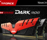 ASUS ROG certified memory product, the T-FORCE DARK memory.