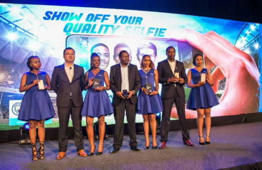 TECHNO Mobile unveiled the Camon CX smartphone at an event in Kenya.