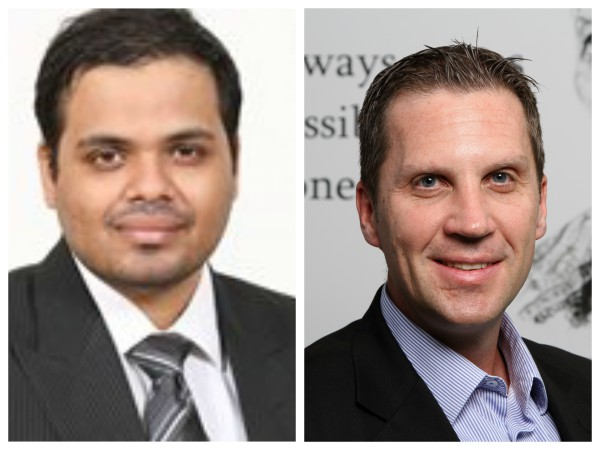 Amit Kaundinya, Practice Manager – Digital, BPM and Integration, Wipro Limited and Gavin Holme, Business Head, Africa, Wipro Limited.