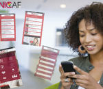 The UNICAF Mobile App.