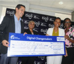 Tigo Tanzania unveils 5th edition winners of annual Change-Makers' competition.