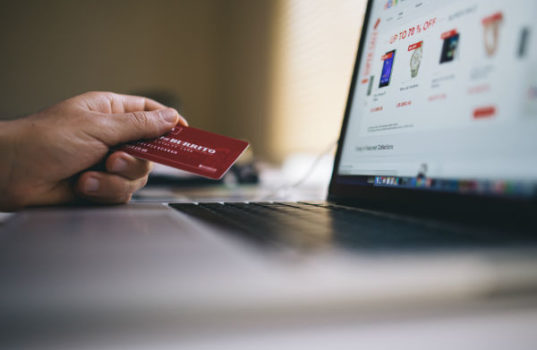 Shopping online is a big deal