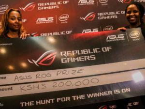 Asus ,ROG Kenya hosted a gaming  tournament at  Sarit Center this weekend..