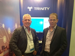 Left: Ross Hickey CEO Trinity Telecoms. Right: Andrew Groves Director of Sales and Operations.