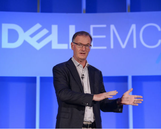 David Goulden, President of Dell EMC.