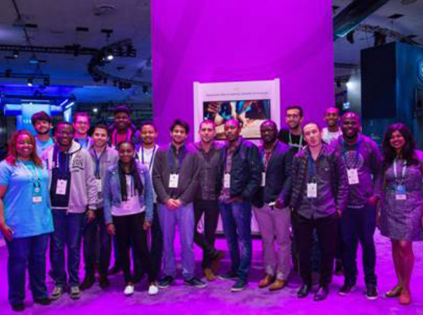 African developers at the Facebook F8 conference.