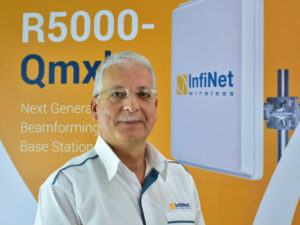Kamal Mokrani, Global Vice President, InfiNet Wireless.