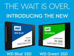 WD Launches a new range of SSD's in South Africa.